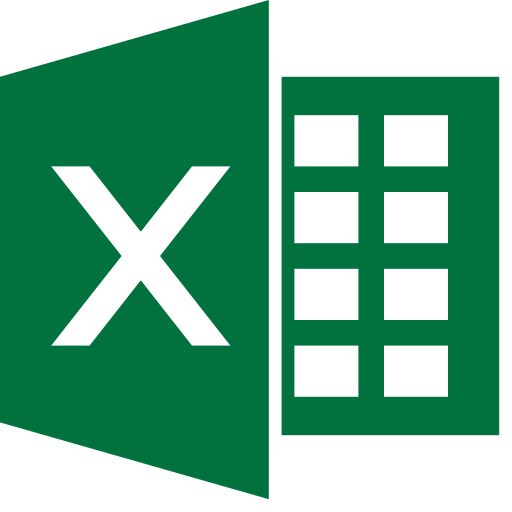 excel file icon icon with png and vector format for free