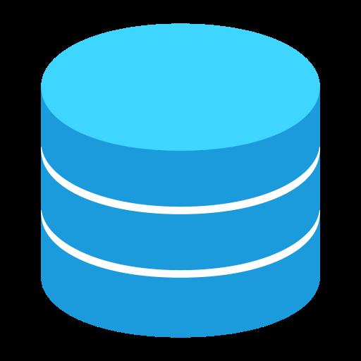 Data Base, Founder, Multicolor Icon