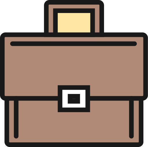 Briefcase, Chat Bubble, Interview Icon