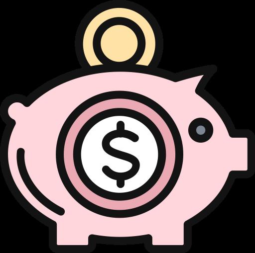 Savings, College Savings, Education Icon