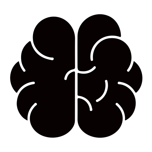 Brain, Chip, Computer Icon