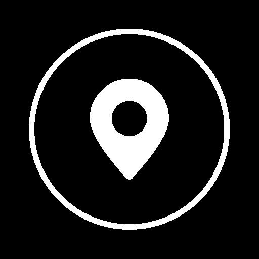 Address White, Address, Call Icon