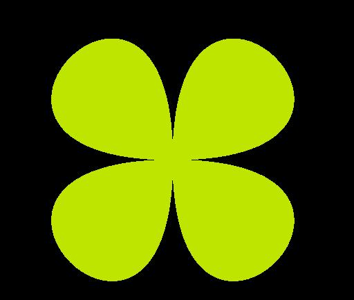 Clover, Green, Leaf Icon