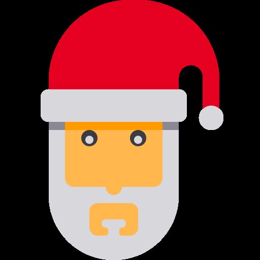 Santa Claus Santa, Santa, Sled Icon