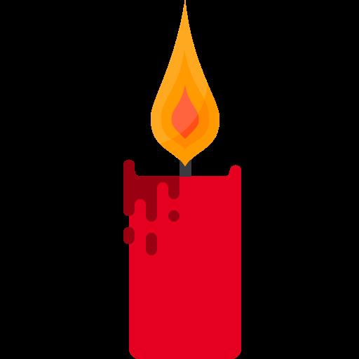 Candle Flame Deco, Deco, Decor Icon