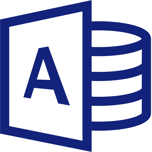 Access, Office, Data Icon