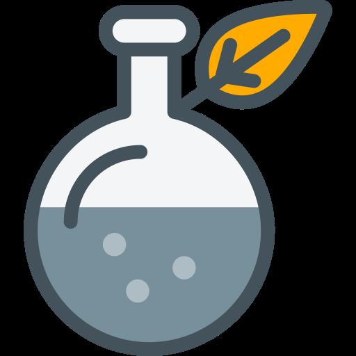 Lab Flask   Leaf, Lab, Laboratory Icon