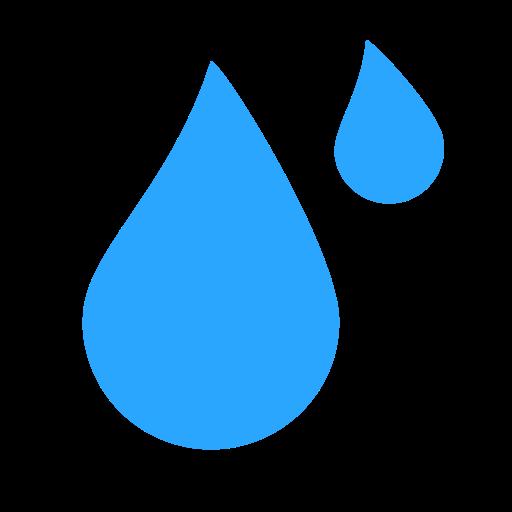 Water, Drops, Earthen Icon
