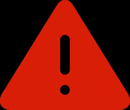 Resultado de imagen para warning icon