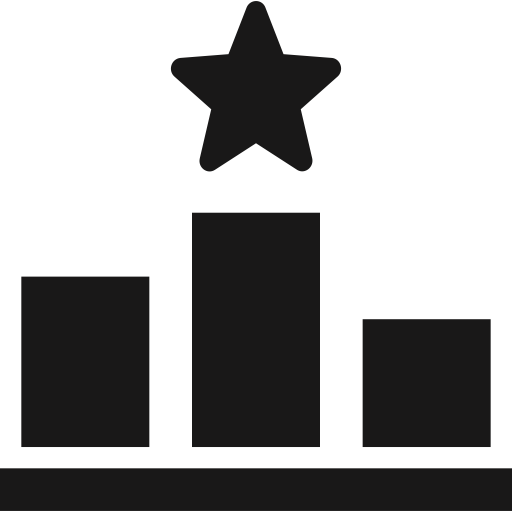 rank ranking icon with png and vector format for free