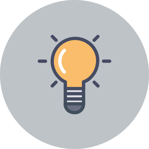 Idea-bulb-bulb-idea-creative-mind Icon