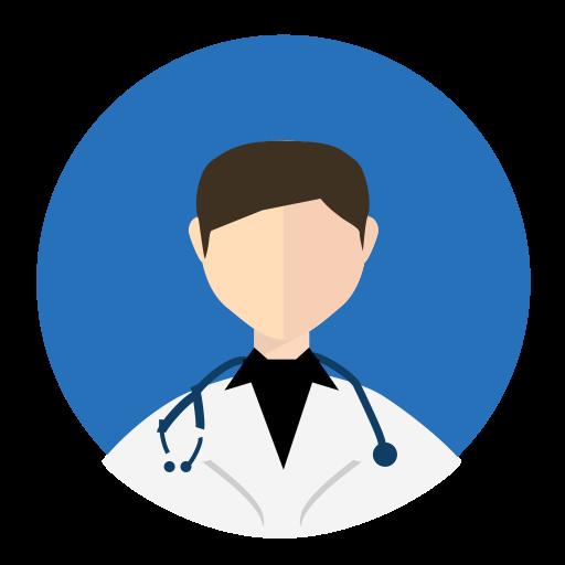Doctor, Fill, Multicolor Icon