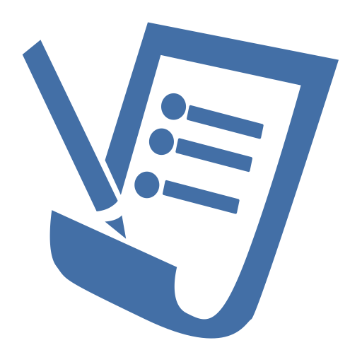 contract document file icon with png and vector format for free