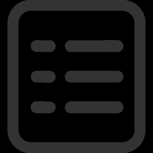Content, Copyright, Document Icon
