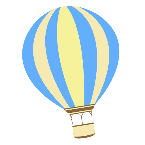 []  Copy Has Been Restored, Air Balloon, Air Travel Icon