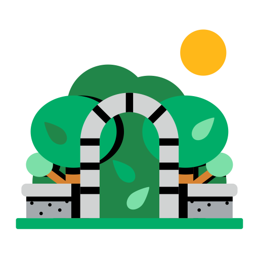 Park-simple-multicolor Icon