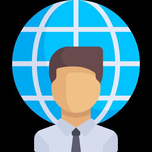 Worker, Freelance Worker, Freelancer Icon