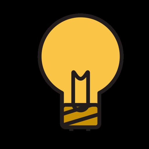 Light, Fill, Linear Icon