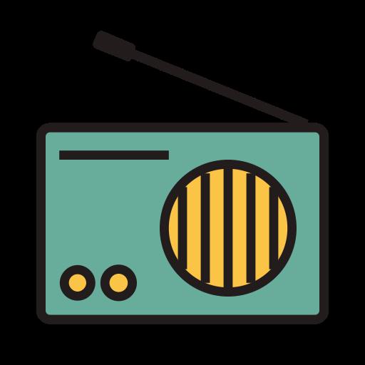 Radio, Fill, Linear Icon