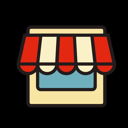 Shop, Fill, Linear Icon