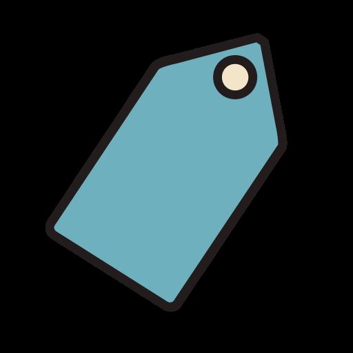 Tag, Fill, Linear Icon