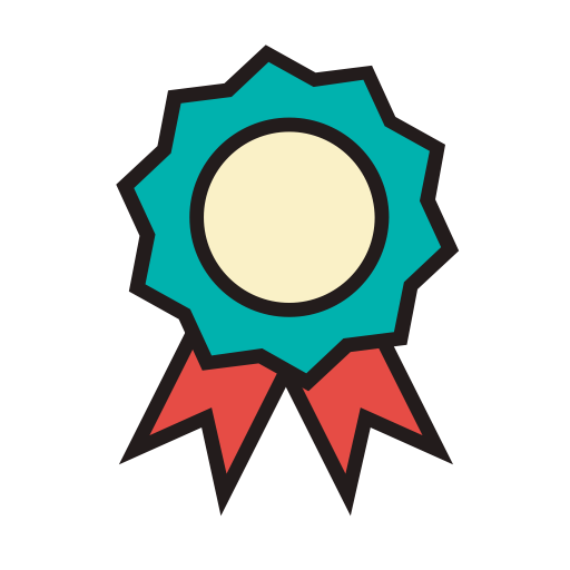 Badge, Fill, Linear Icon
