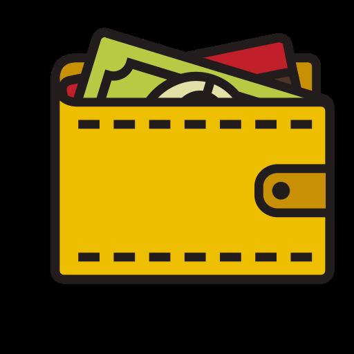 Wallet, Fill, Linear Icon