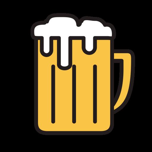 Beer Mug, Fill, Linear Icon