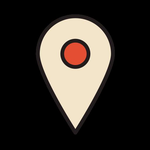 Coordinate, Location, Map Icon