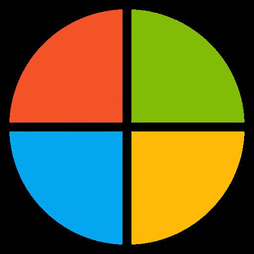 Microsoft Apps, Microsoft, Windows Icon