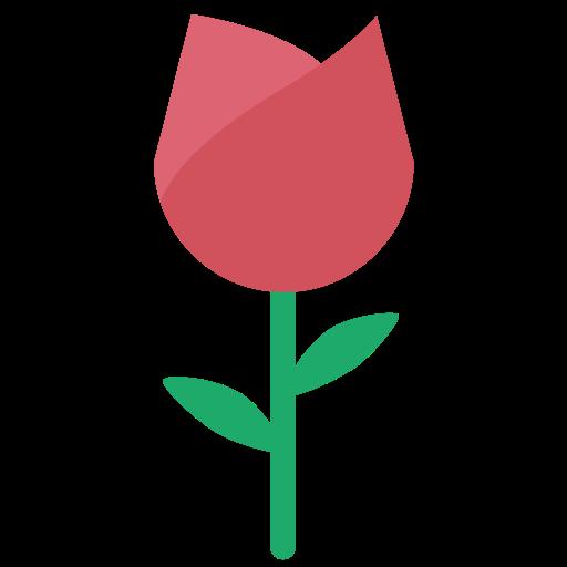 Rose, Blooming Rose, Flower Icon