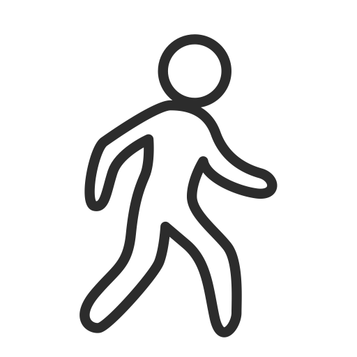 Walk, Cross Walk, Crossing Icon