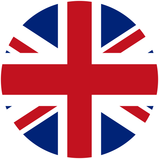 british flag fill multicolor icon with png and vector
