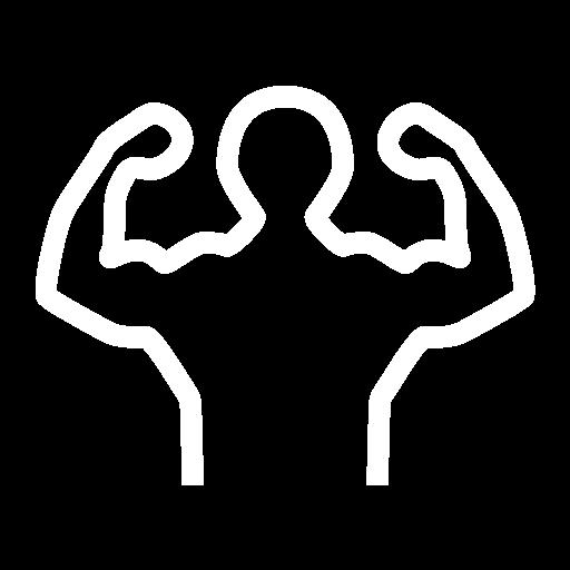 Bodybuilding, Dumbbell, Kettlebell Icon