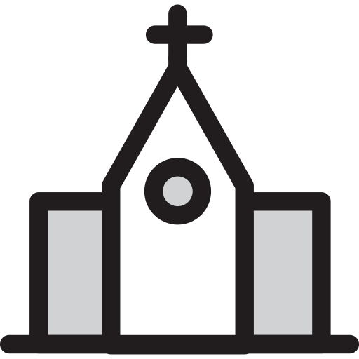 Church, Cross, School Icon