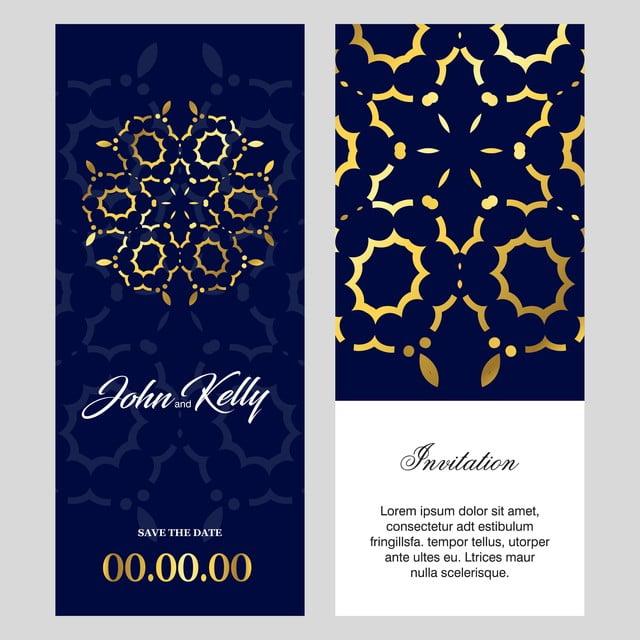Invitation Card Creative Design Template For Free Download