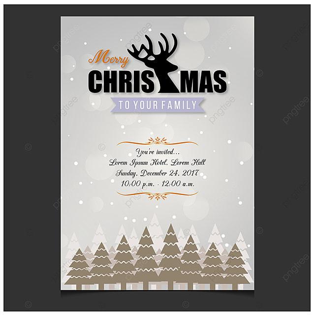 Happy New Year Invitation Card 23
