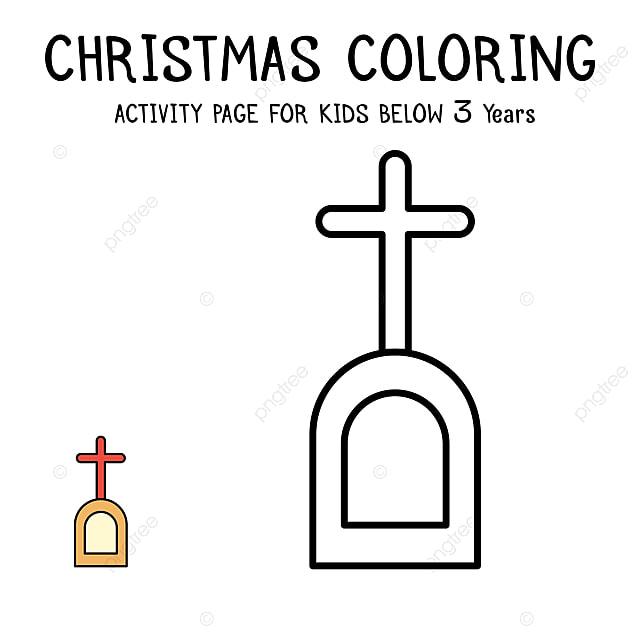Pngtreeに子供のためのクリスマスぬりえテンプレートの無料ダウンロード