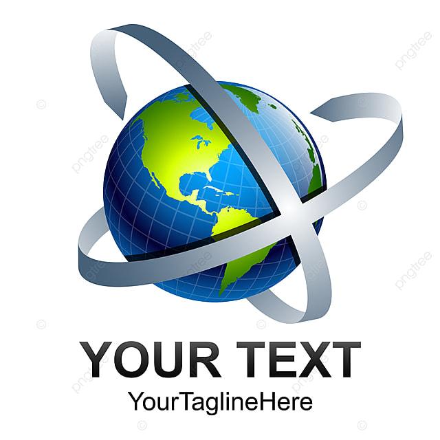 Abstract World Globe Vector Ilration Tech Logo Template