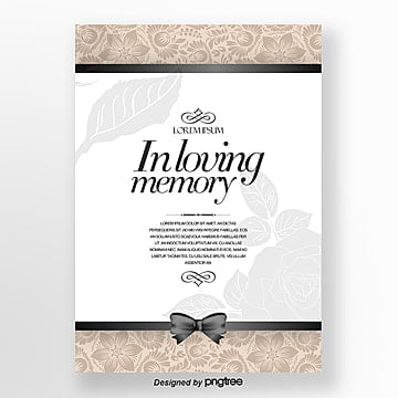 In loving memory Templates, 32 Design Templates for Free