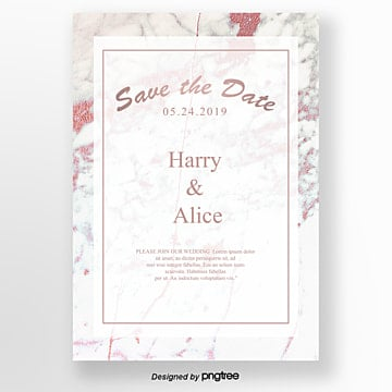 pink european wedding anniversary card Template