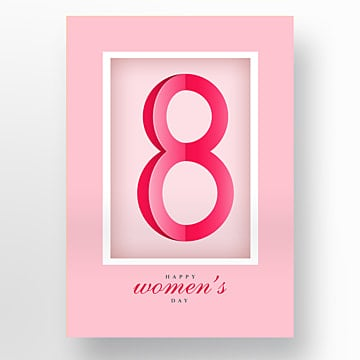 modern individual creativity 38 festival posters for womens day Template