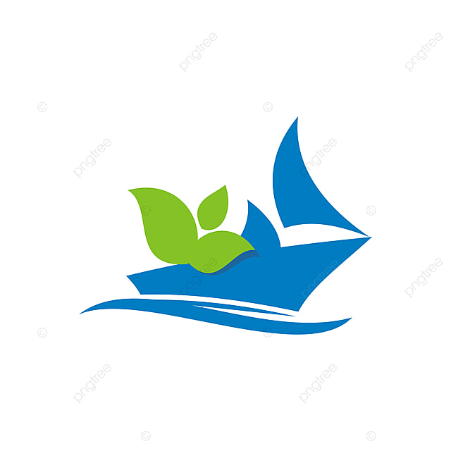 Sailboat In The Ocean Template