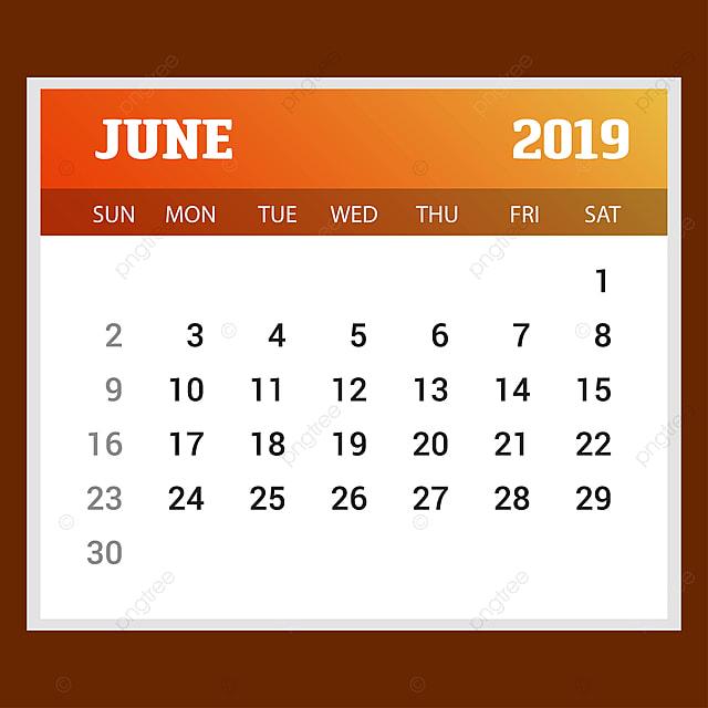 2019 bonne ann u00e9e juin calendrier mod u00e8le no u00ebl contexte