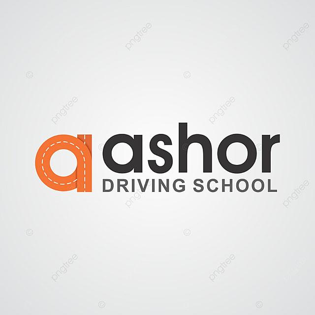 Creative Corporate Driving School Logo Design Template