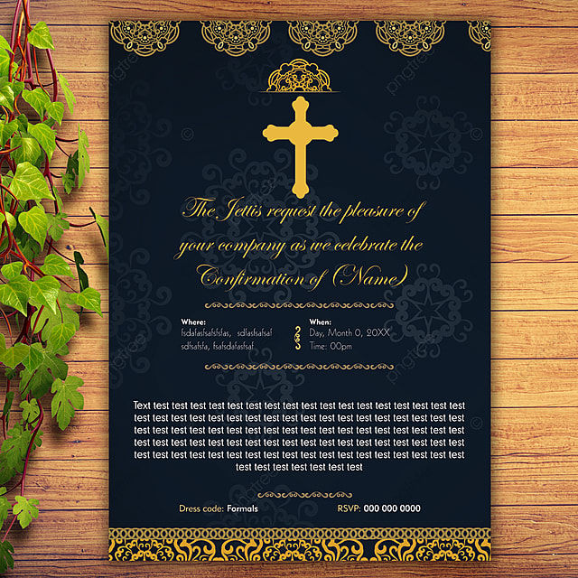 Confirmation Templates Psd Design For Free Download Pngtree
