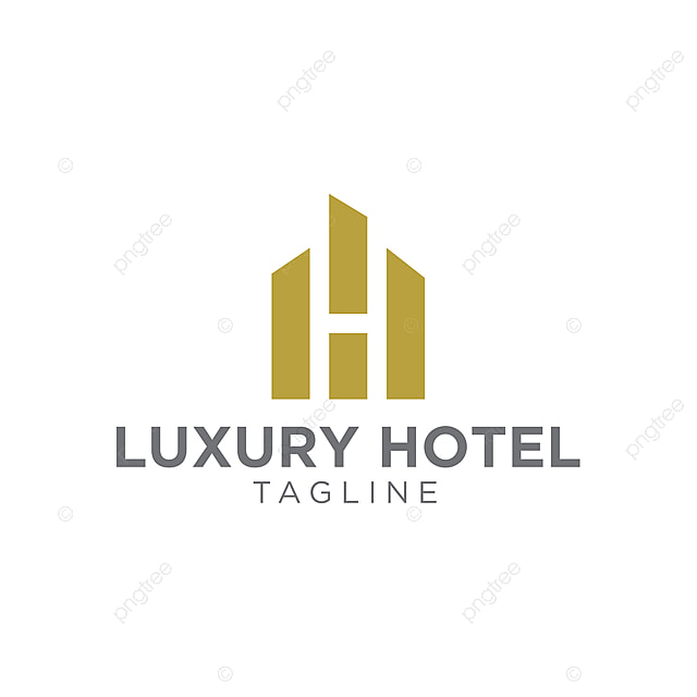 80986e2ac1d luxury building with letter h icon logo vector Template for Free ...