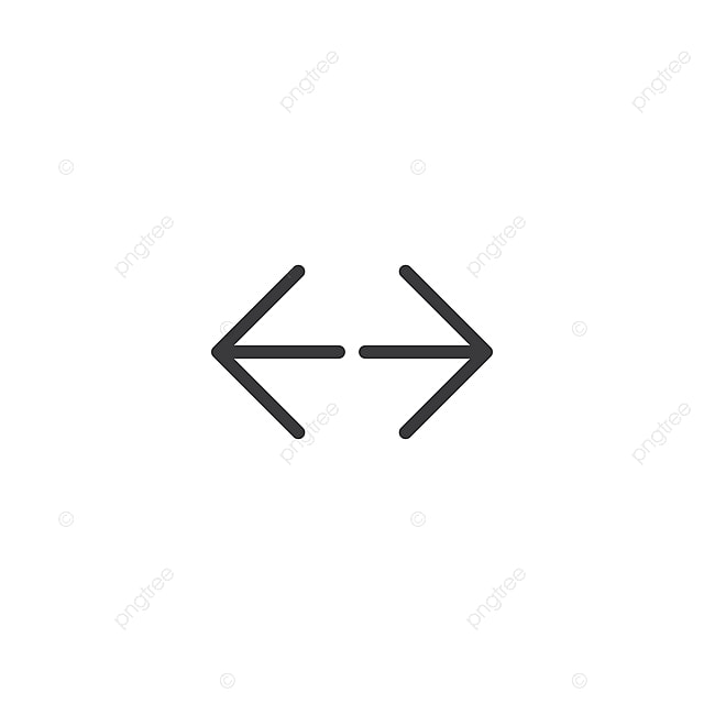 Stretch Full Screen Icon Isolated Perfect Pixel Arrow Symbol