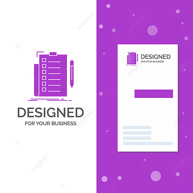 business logo for expertise checklist check list document