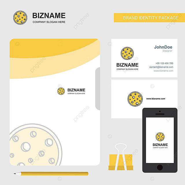 Datei Für Visitenkarten Und Mobile App Mond Logo Vorlage Zum